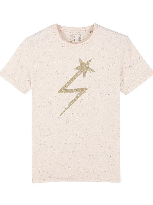 CELESTE LIGHTNING STAR T-SHIRT OFF WHITE