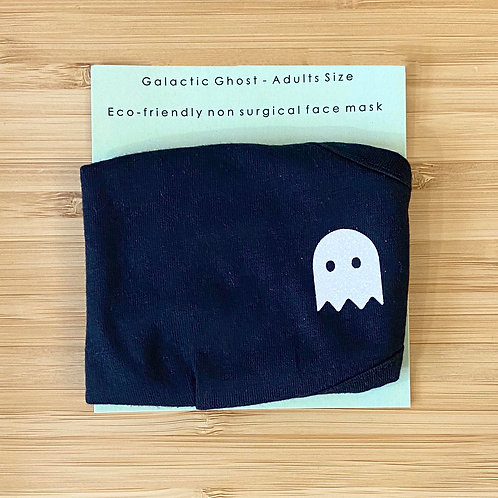 ADULTS ECO FRIENDLY FACE MASK GALACTIC GHOST