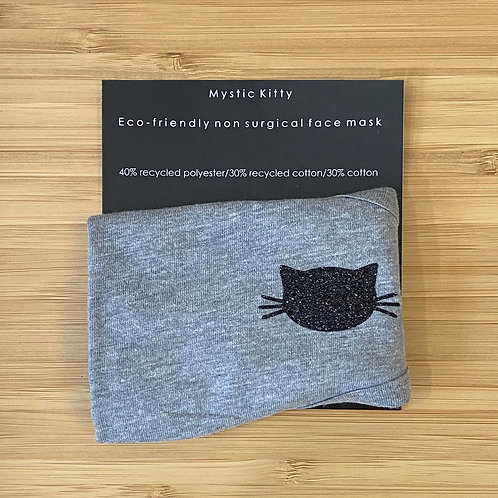 ADULTS ECO FRIENDLY FACE MASK MYSTIC KITTY