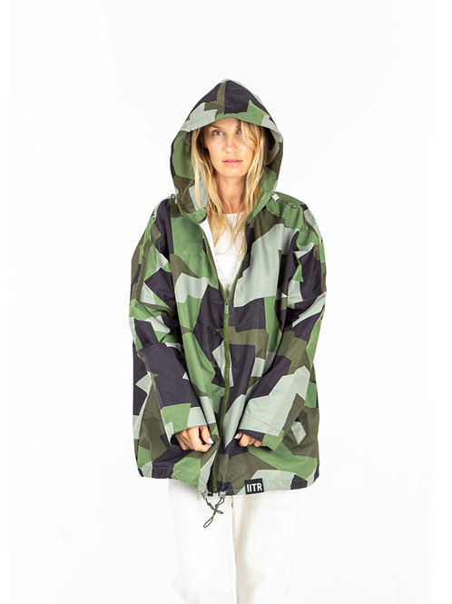 INSANE IN THE RAIN EARTH RECYCLED JACKET
