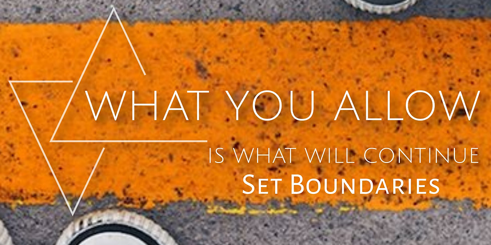 Yes, You Can Set Boundaries!