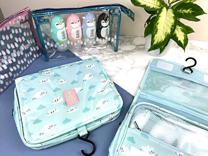 Cute toiletry bags image
