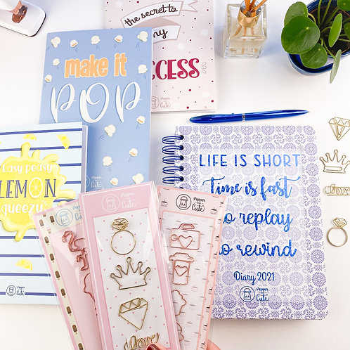 2021 diaries and notebooks