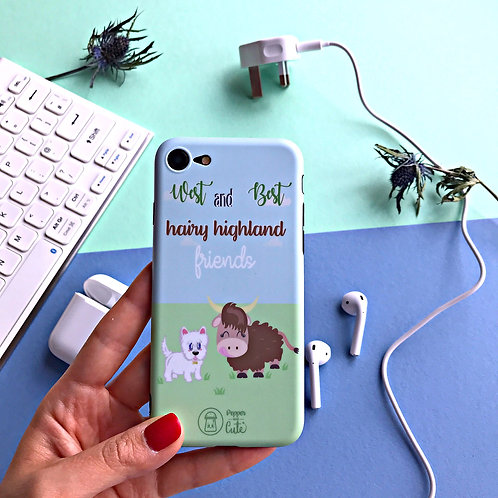 Iphone cute phone case from Scotland