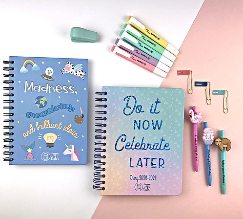 Cute stationery set | Diaries and planners