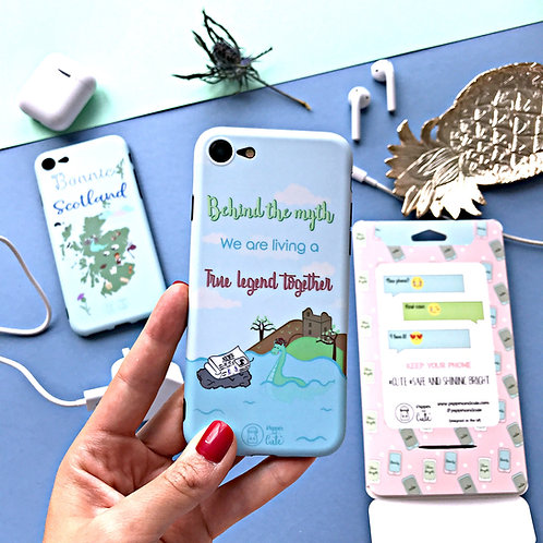 Scottish phone case - Loch Ness Monster