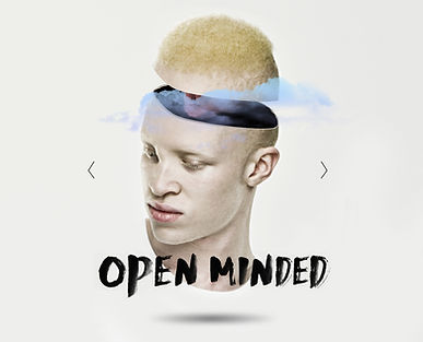 Open minded grafica
