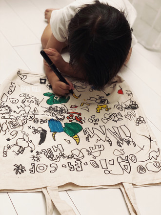 J 24 - Doodle itome bag