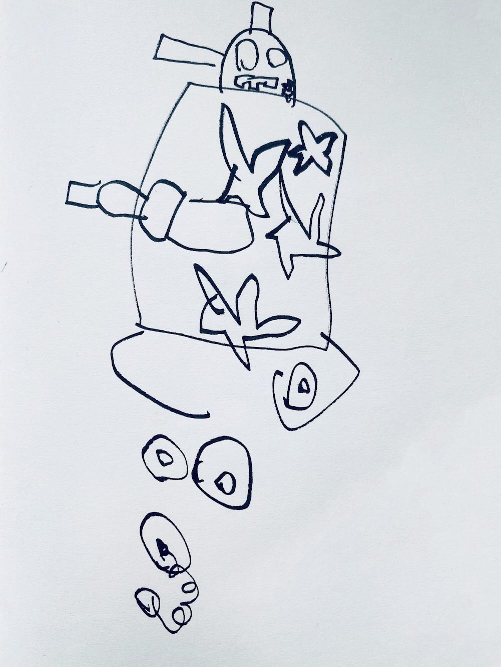 D 08 - Tank + Robot