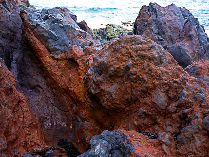 lava, vulkan, island