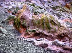 pigment, lava, vulkan, island