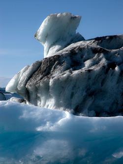 Is, Island, Jøkulsarlon, isbre