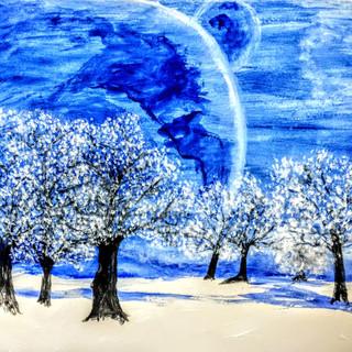 """Snowy Nights"""