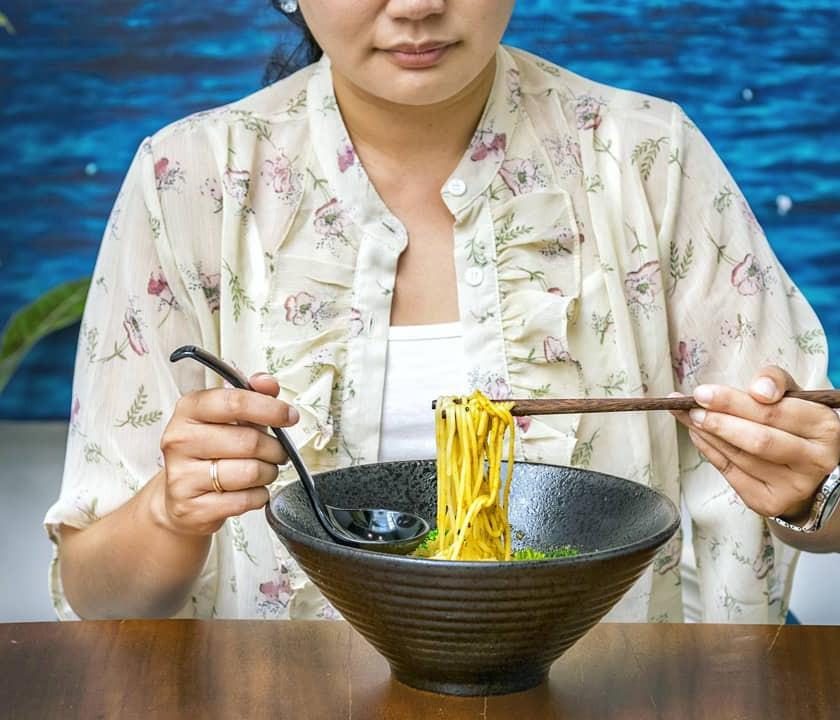 Asian Spicy Ramen @ Blue Vegan