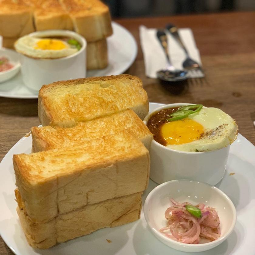 Toast and Kacang Phool