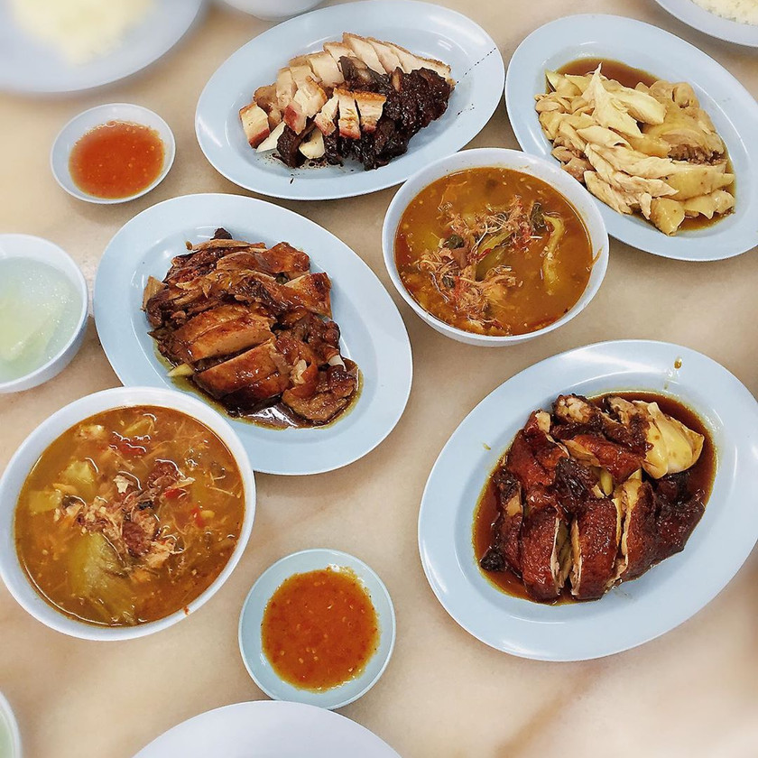 Sin Nam Huat 新南发鸡饭 Macalister Road