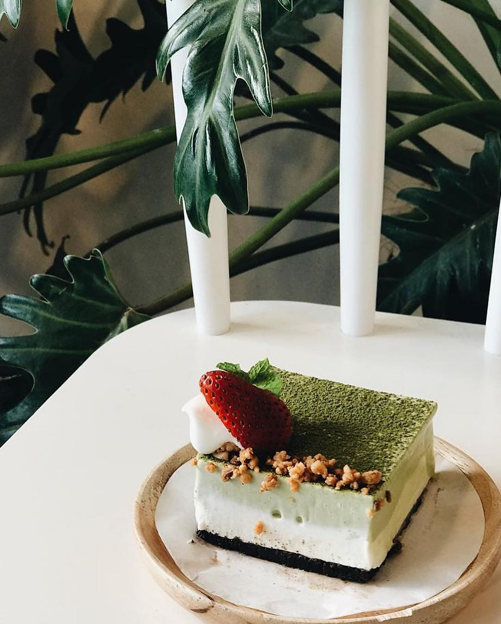 Matcha Yogurt Mousse 15 Grams