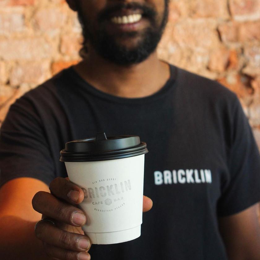 Take Away Coffee from Bricklin Cafe Bar
