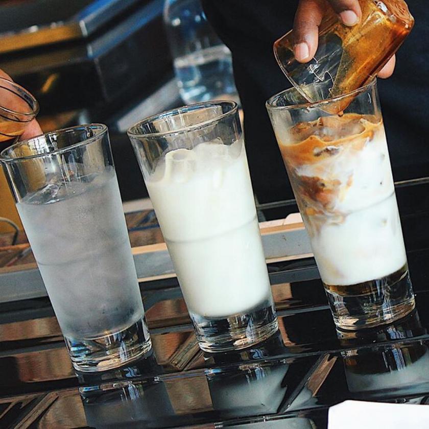 Iced Latte at Bricklin Cafe Bar