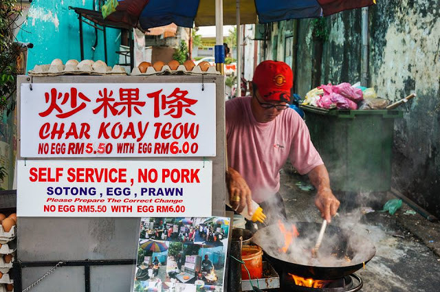 Left Handed Char Koay Teow