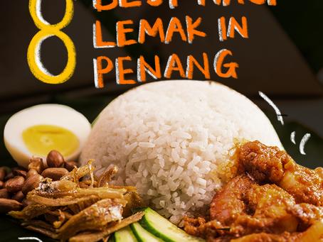 8 Best Nasi Lemak in Penang