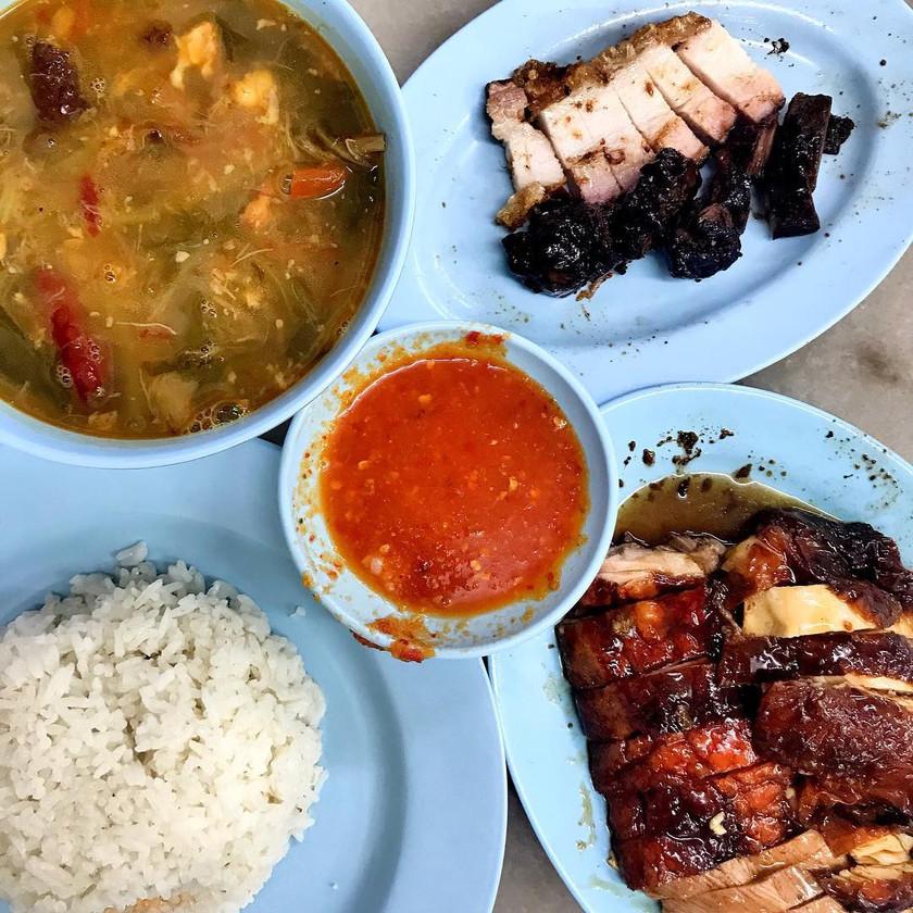 Sin Nam Huat Roasted Chicken Rice