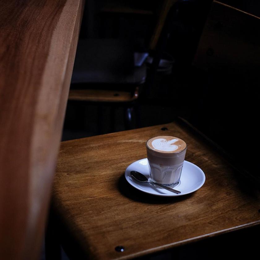 Latte at Black Kettle