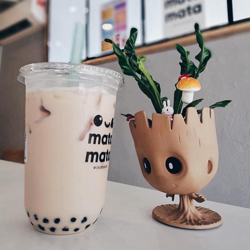 Matamata bubble tea at Chulia Street Penang