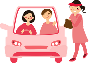 Drive-thru with DROP app