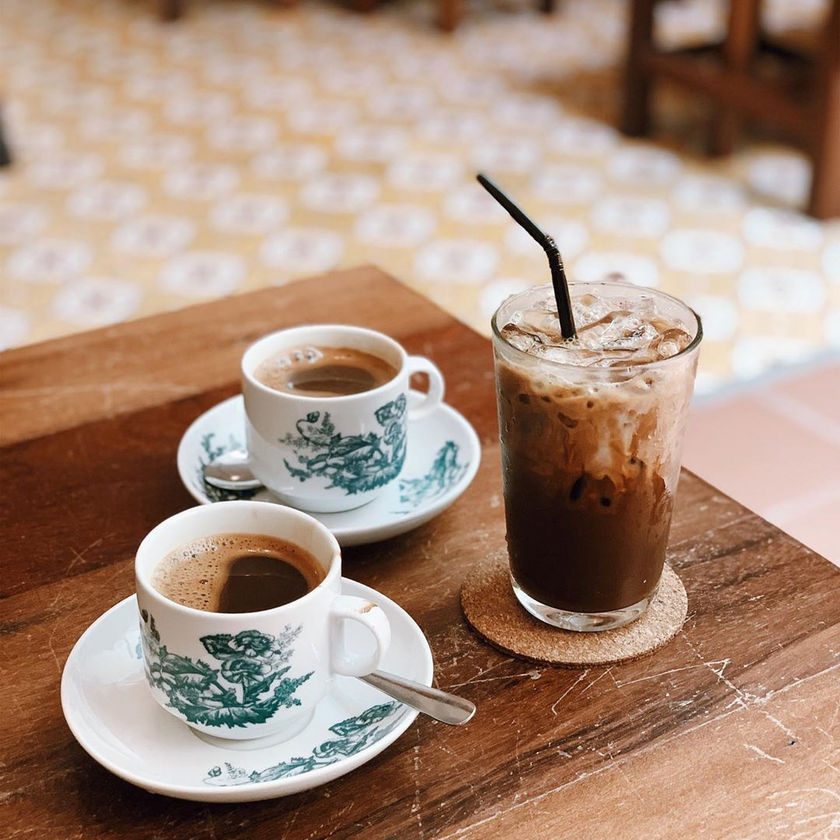 Kopi O, Coffee Cave Cafe by Toh Soon