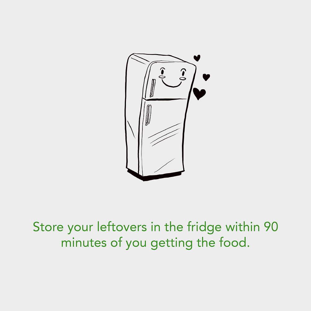 Store your food