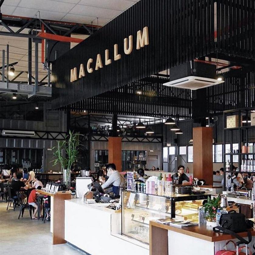 Macallum Connoisseurs Barista Counter