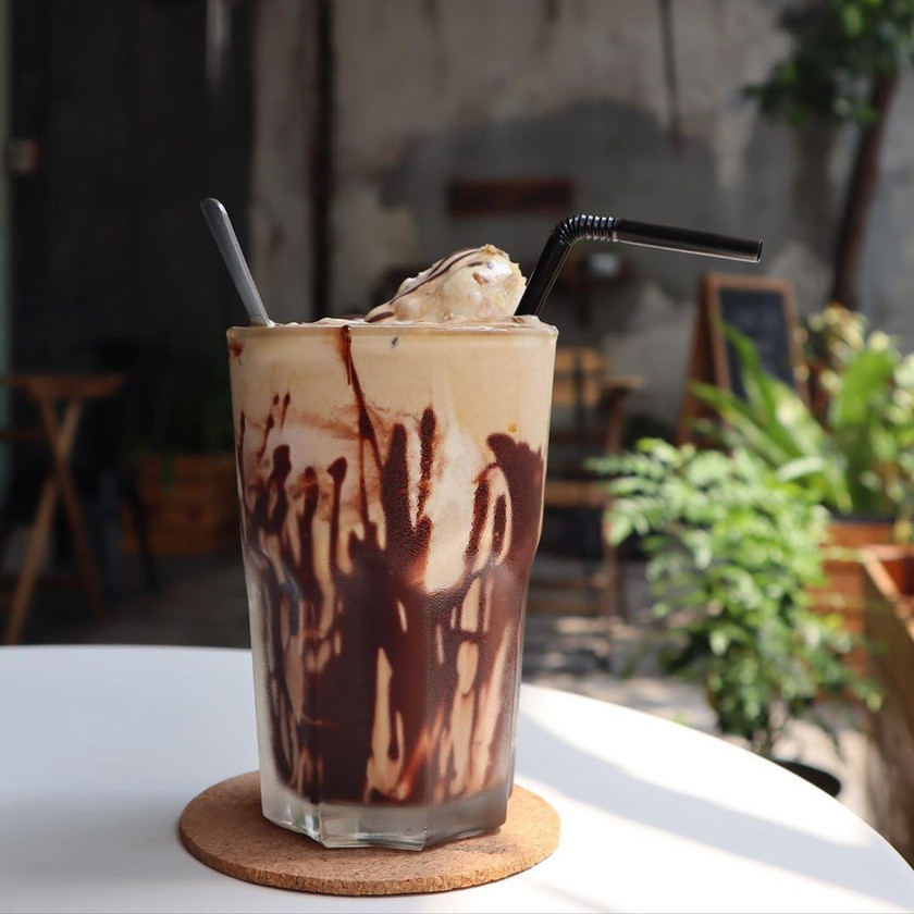 Melbourne Iced Coffee at Just Caffe