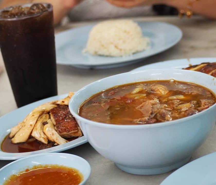 Shin Boon Kee Roasted Chicken Rice