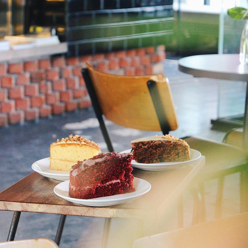 Cakes from Bricklin Cafe Bar