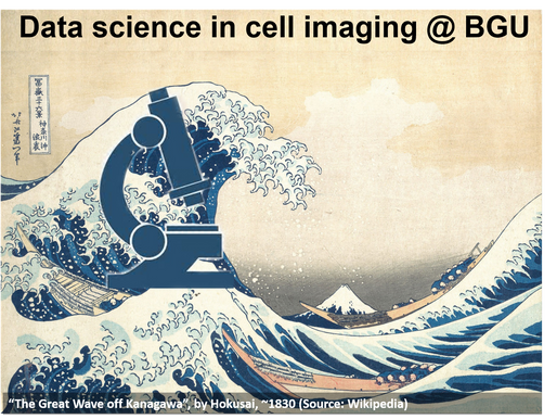 Data science in cell imaging - launching a new graduate course at BGU