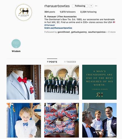 bow tie social media