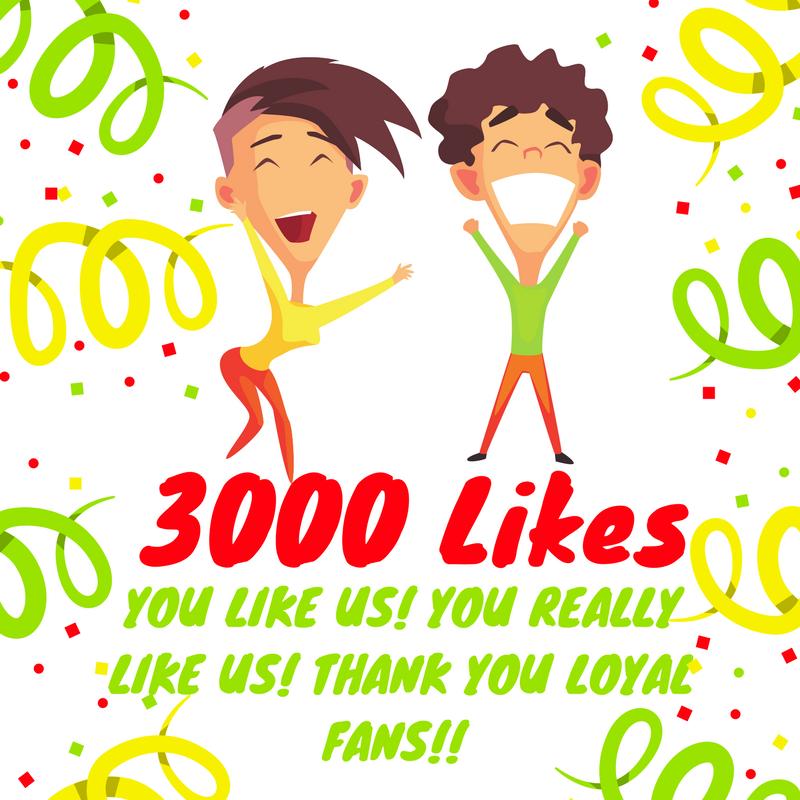 3000 Likes
