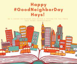 Happy #GoodNeighborDay Great Bend! (1)