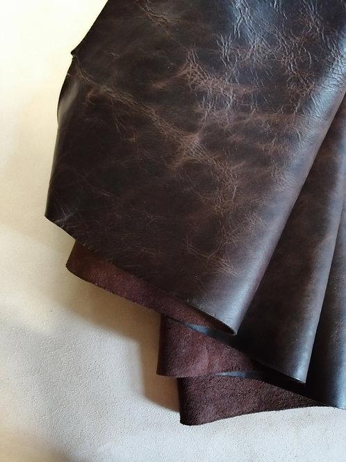 Vintage Horse Front -Brown