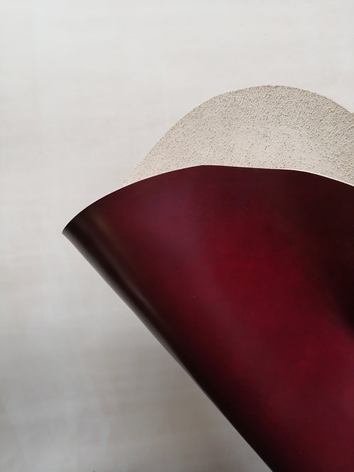 Cordovan Shell - Claret