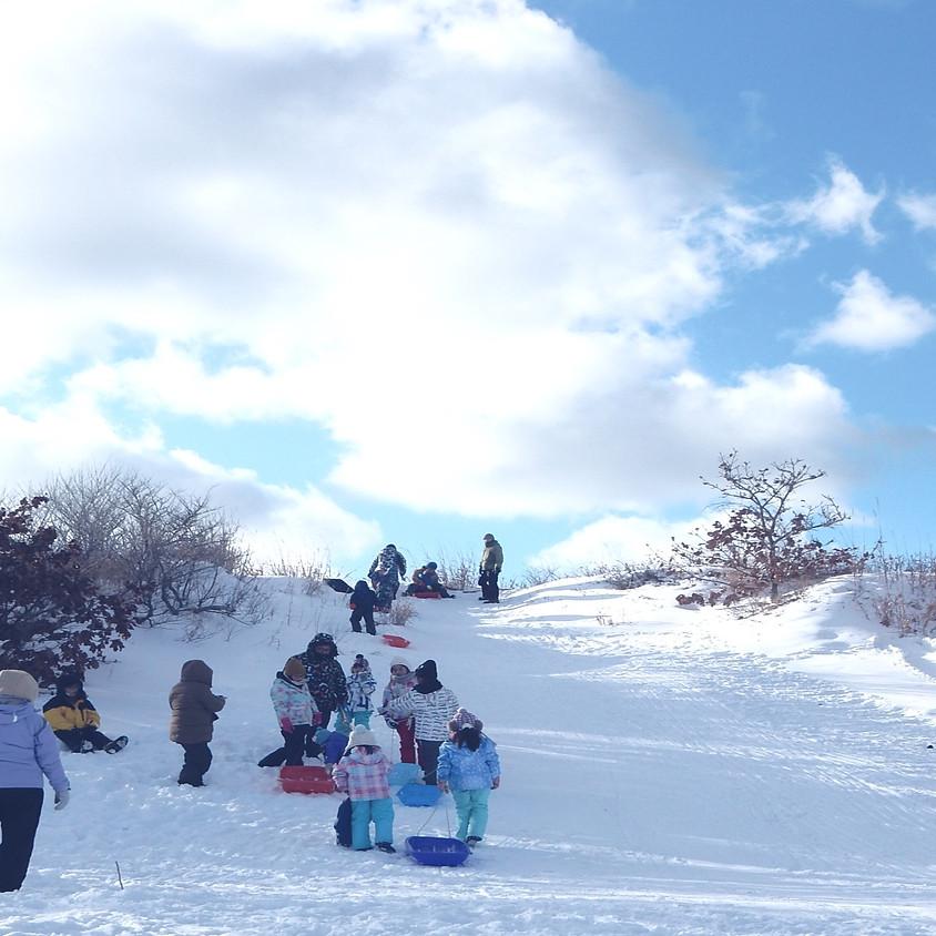 【キッズクラブ】冬の雪遊び&お楽しみ会