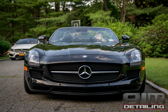 Aim Detailing | Long Island, Ny | Mercedes Benz SLS GT Paint Correction & Ceramic Pro 9H