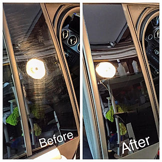 The definition of a Paint correction- (also known as polishing or buffing) is the process of permanently removing below surface imperfections from a vehicle's finish, restoring the truepaintcolor, depth, and clarity, and reflectivity to states which are often better than factory new. Here at Aim Detailing we do exactly that. Other shops may use wax or other paint fillers to hide imperfections (not correcting any of the damage),only for it to come back afew weeks later. After a true paint correction, the cars paint will be completley free of any defect, and will be in prestine condition.
