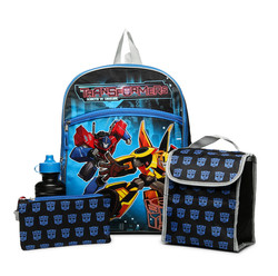 Transformers 5-Piece Backpack Set
