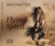 La copertina del primo CD di Spirit Gospel Choir: Flying Spirit