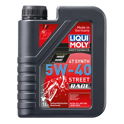 LiquiMoly 4T Synth 5W-40 Street Race