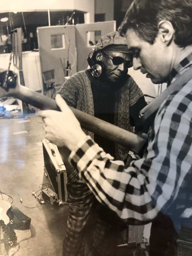 Miles Davis og Bo Stief øver.