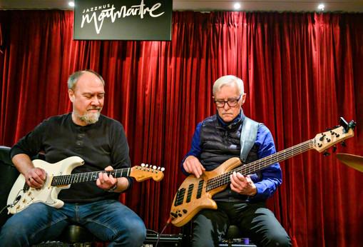 Poul Halberg og Bo Stief  Jazzhus Montmartre 2020