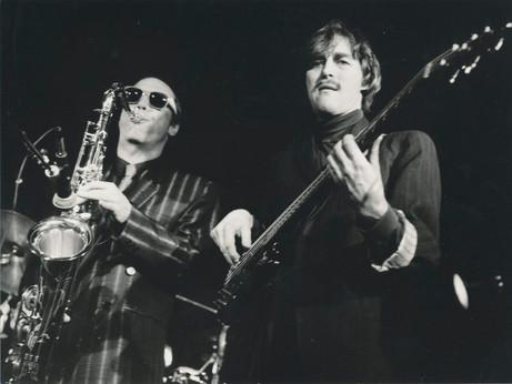 Bob Rockwell og Bo Stief Bobo and the Bobos 1989 Foto: Gorm Valentin